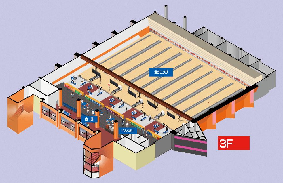 店内マップ3F