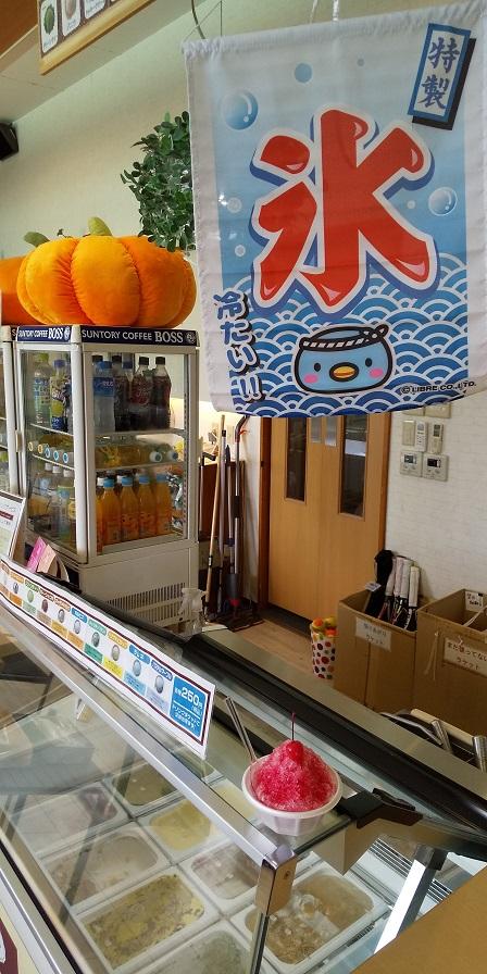 かき氷100円です!(ミニサイズ)